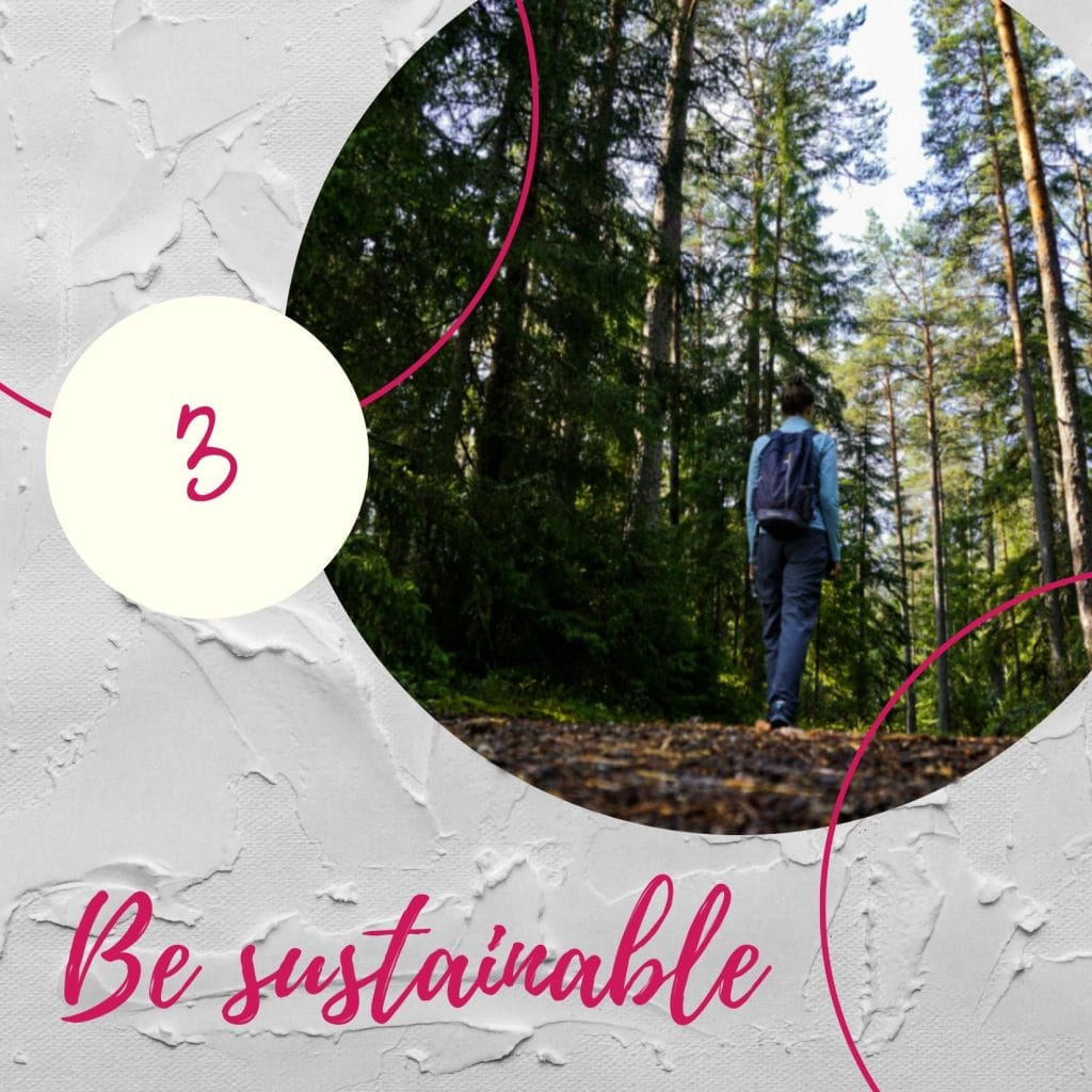 Be sustainable - Experiencing the Globe