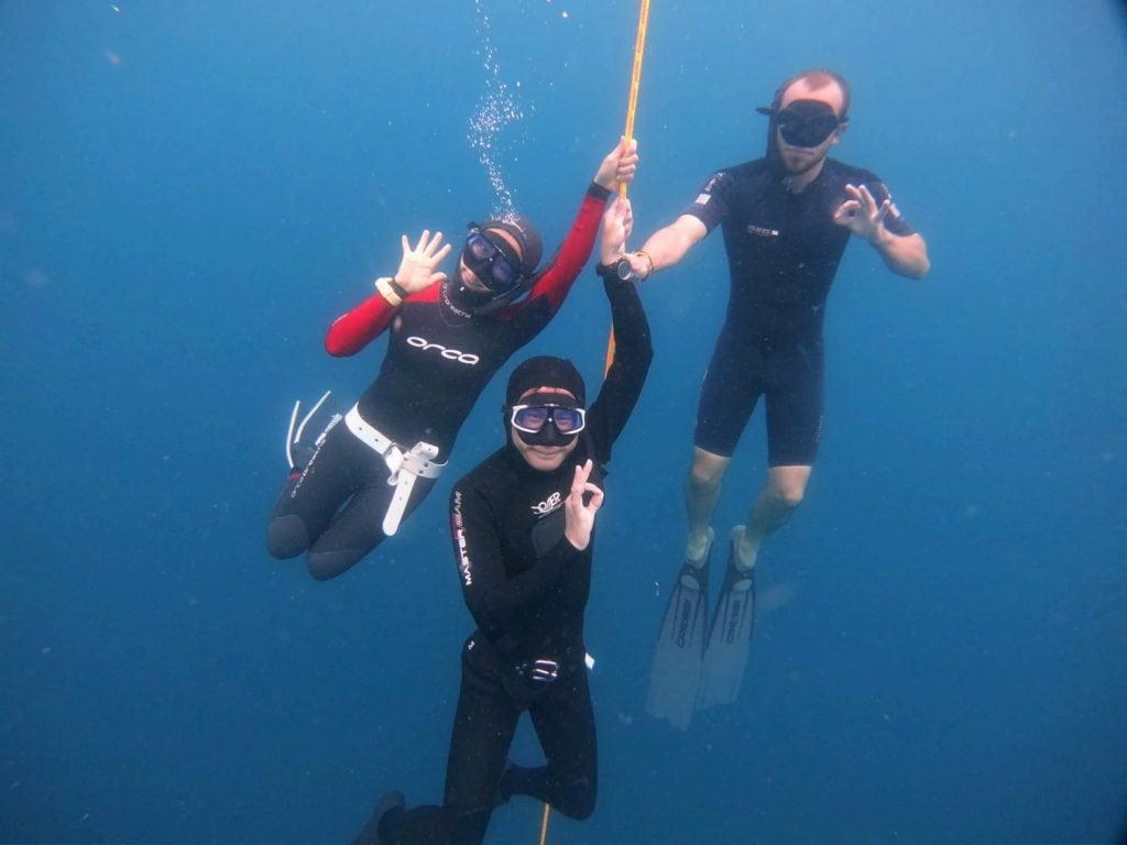 freediving buddy