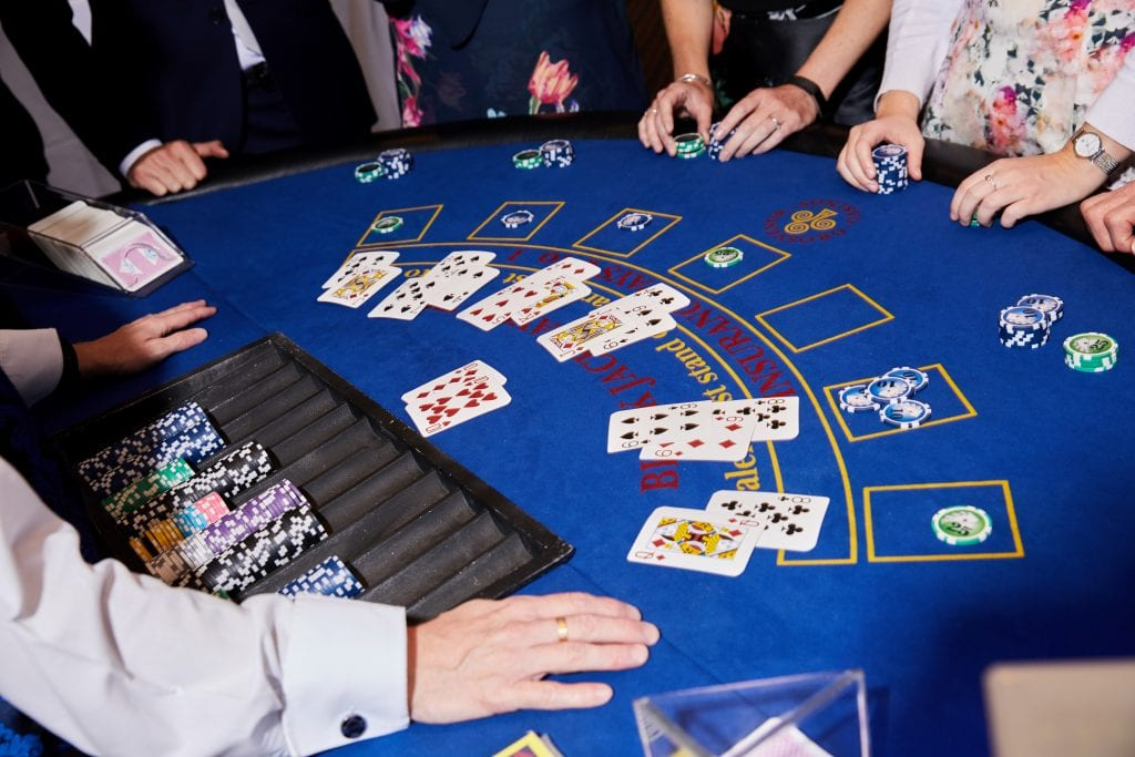 Picture of a Blackjack Table