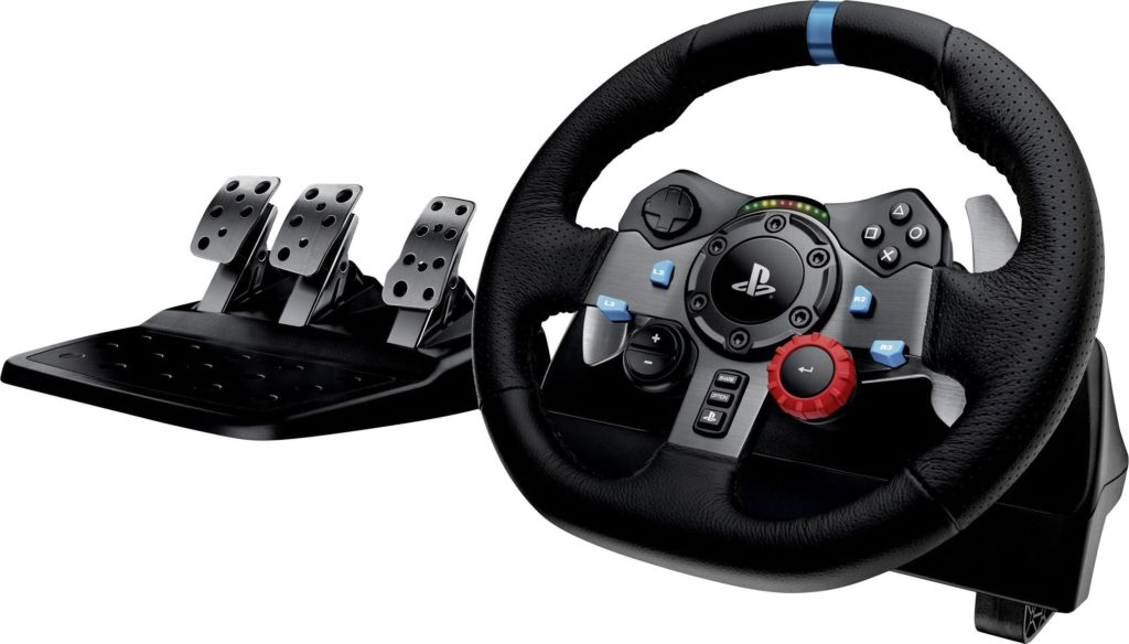 Steering Wheel for Racing Simulator Setup