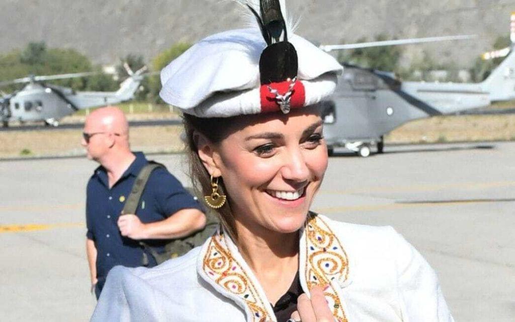 Duchess of Cambridge in Chitrali Cap