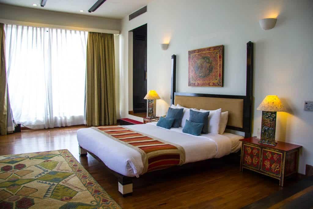 A room at Gokarna Forest Resort Kathmandu