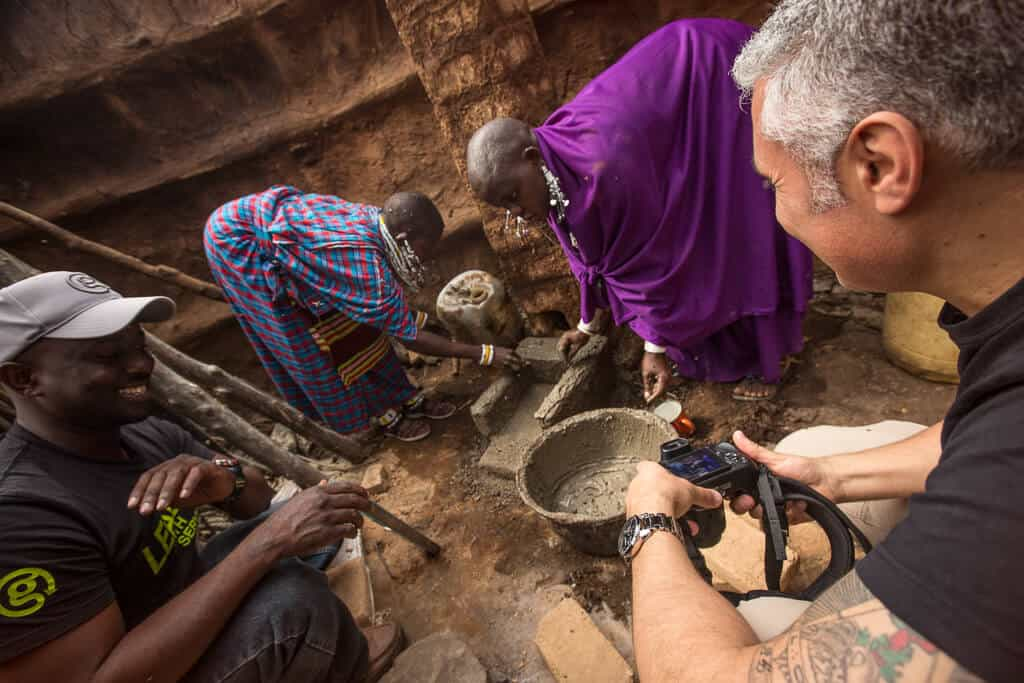 Cooking stoves in Africa