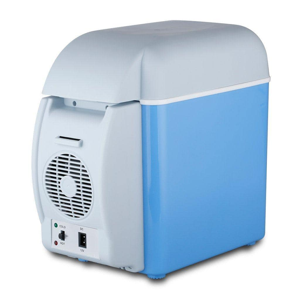 Blue Mini Portable Fridge