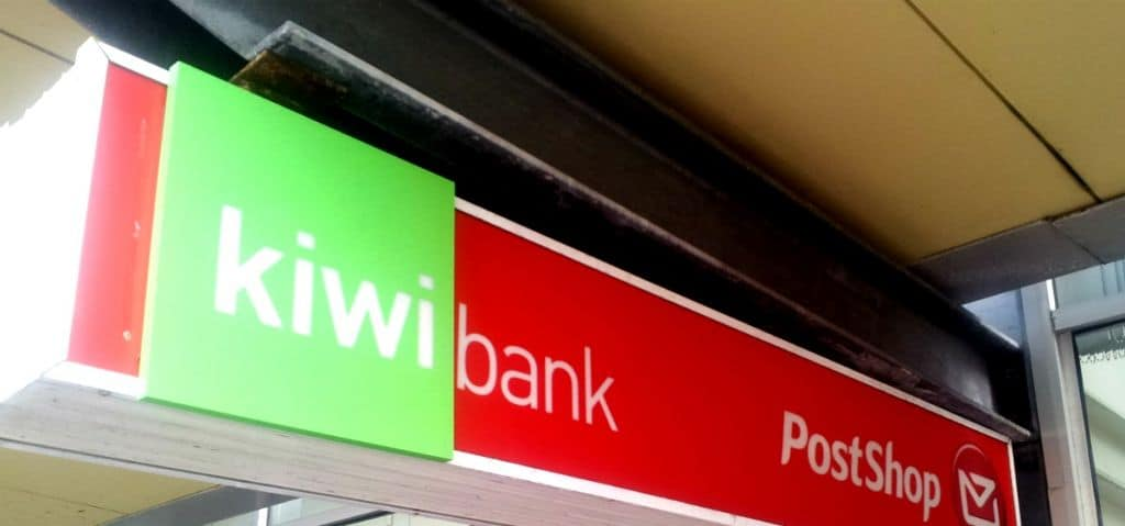 Bank at the Post Office with Kiwi Bank