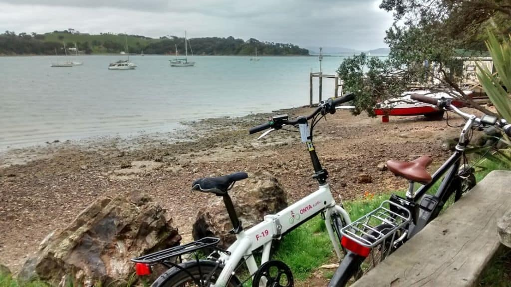 Cycling in Waiheke