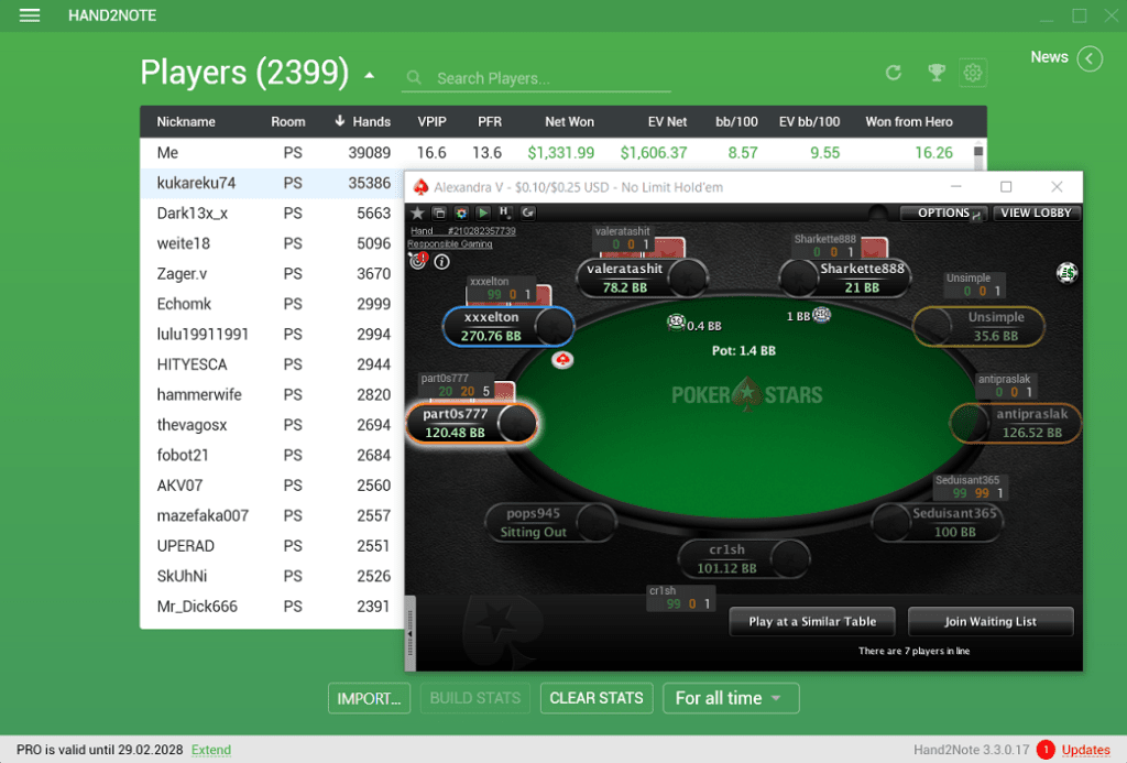 hand2note pokerstars