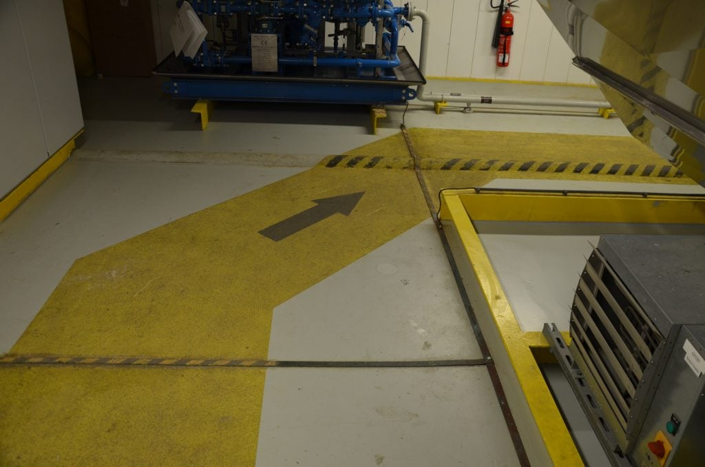 Hoogvliet Offshore Dolwin Alpha LQM Borwin Alpha inspectie
