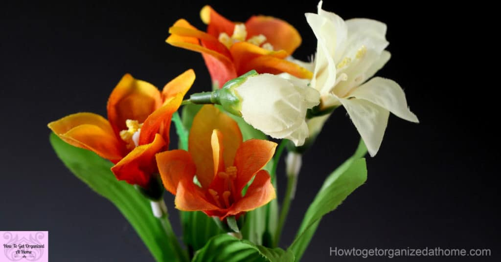 Give artificial flowers on Valentine's Day, allergy sufferers love flowers too!