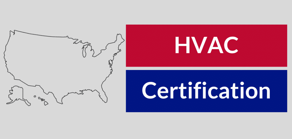 hvac certification requirements