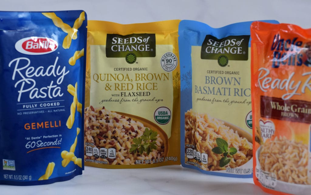 fast and easy whole grains in pouches