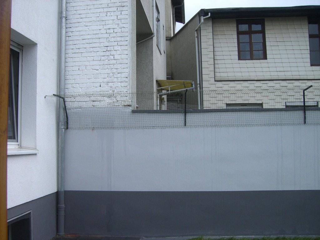 Mauerschutz katze