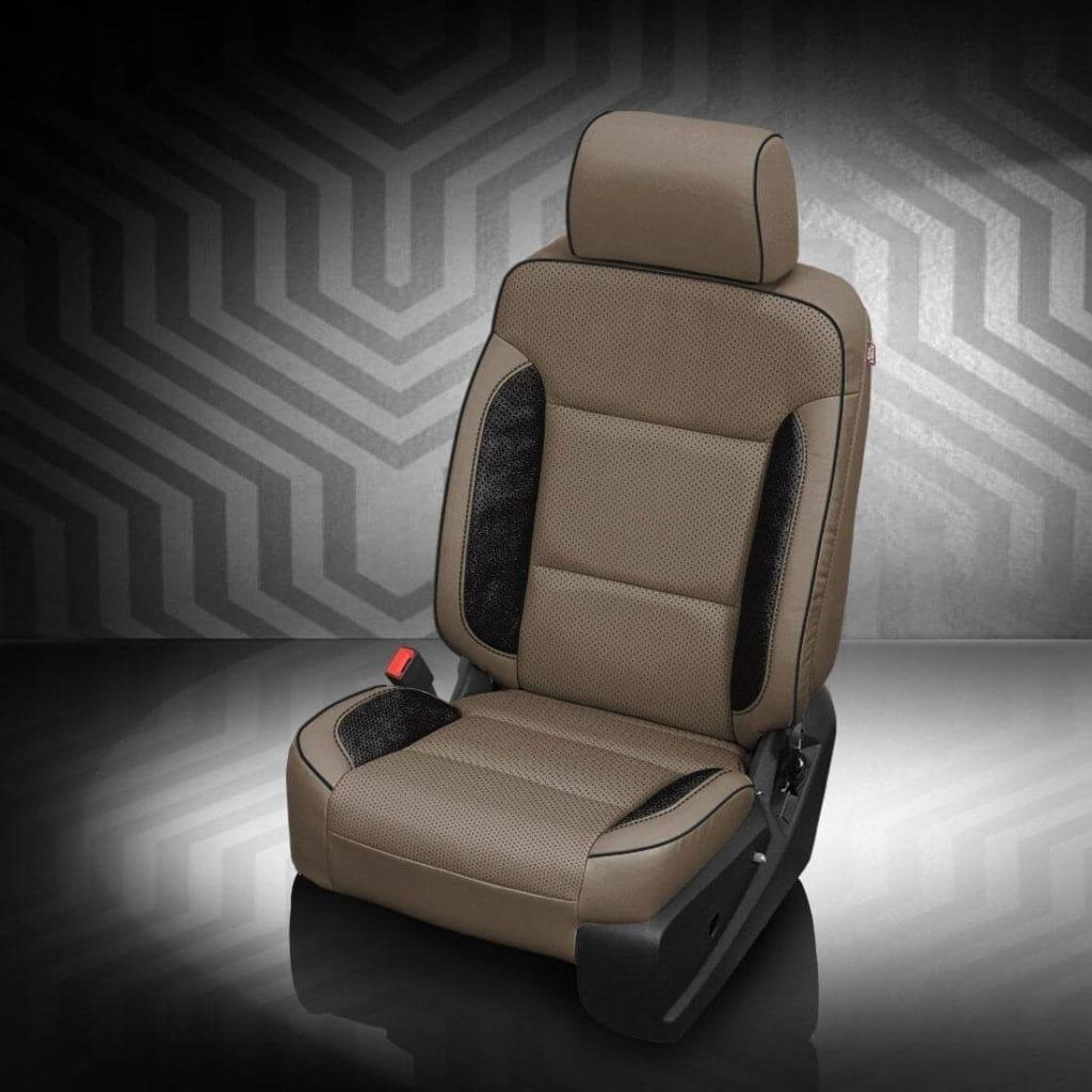 Chevrolet Suburban Two-Tone Leather Seat