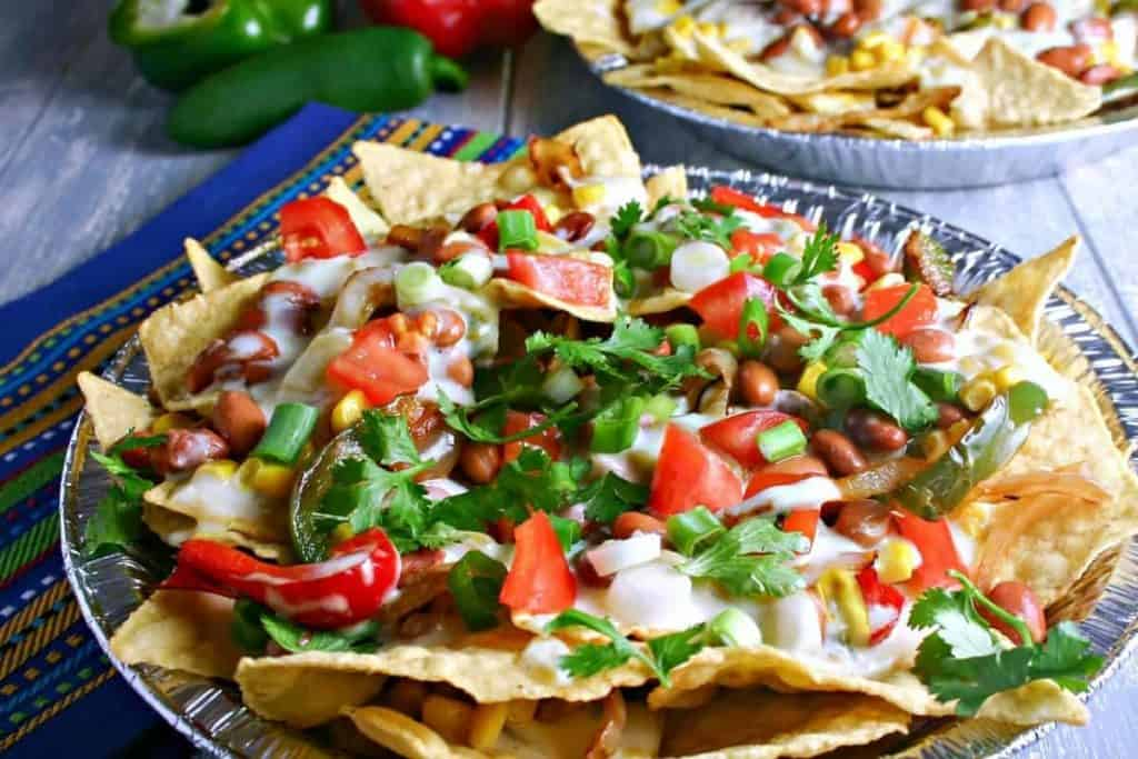 Supreme Veggie Nachos- | Life, Love, and Good Food