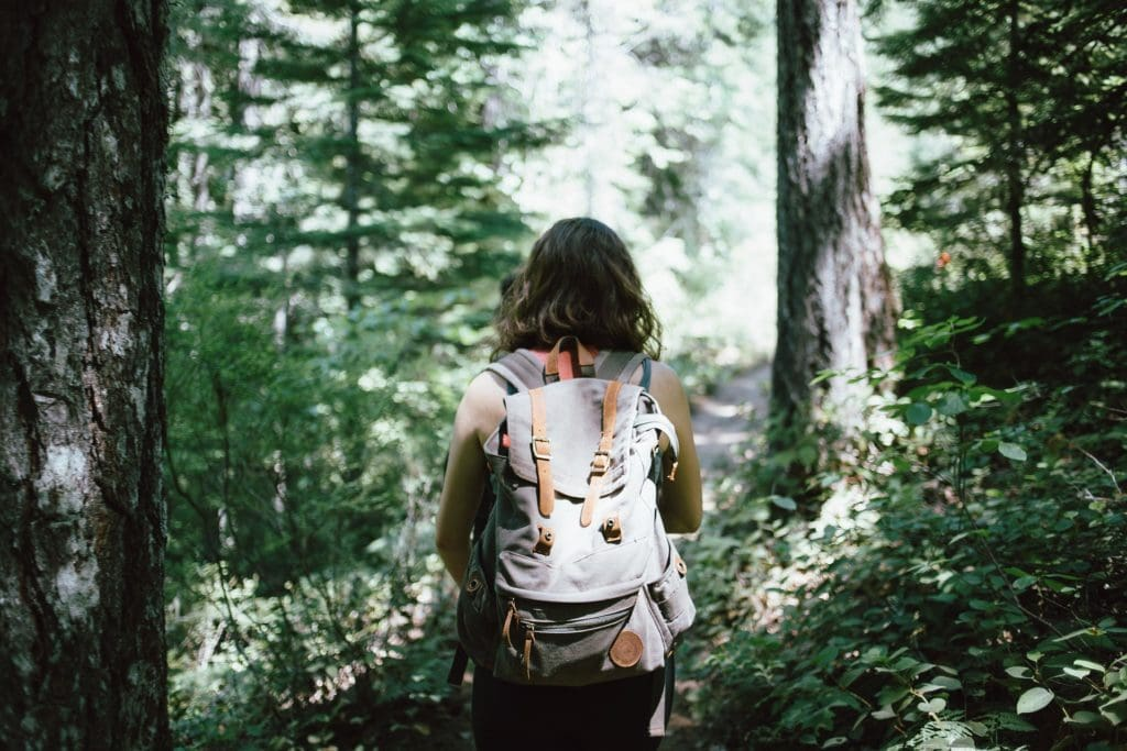 Girl Travelling (Can Overcome Loneliness)