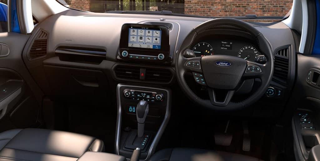 2017 Ford EcoSport Facelift Cabin