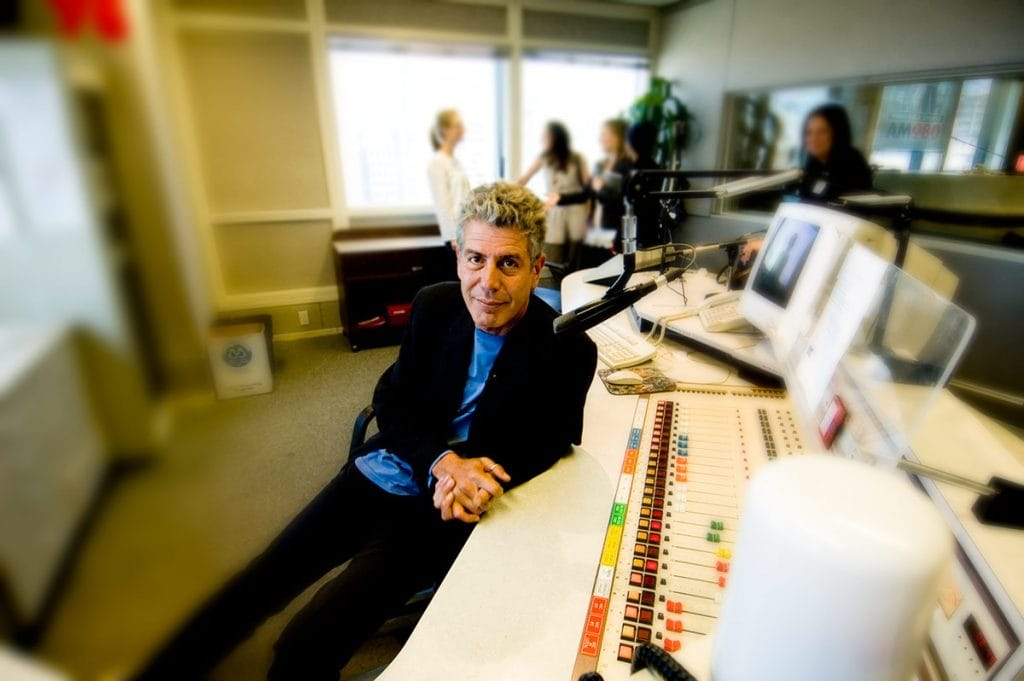 Anthony Bourdain at CKNW