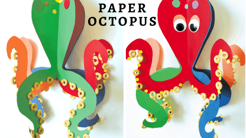 How to make a Paper Octopus