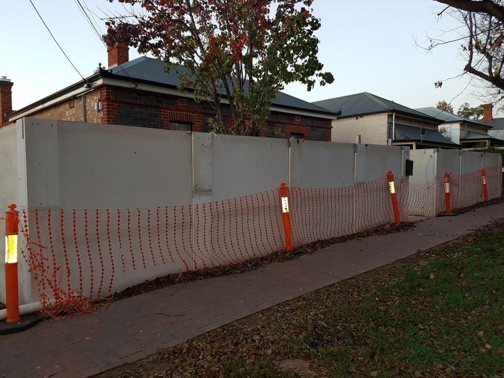 Masonry Style Fence Prospect SIPs