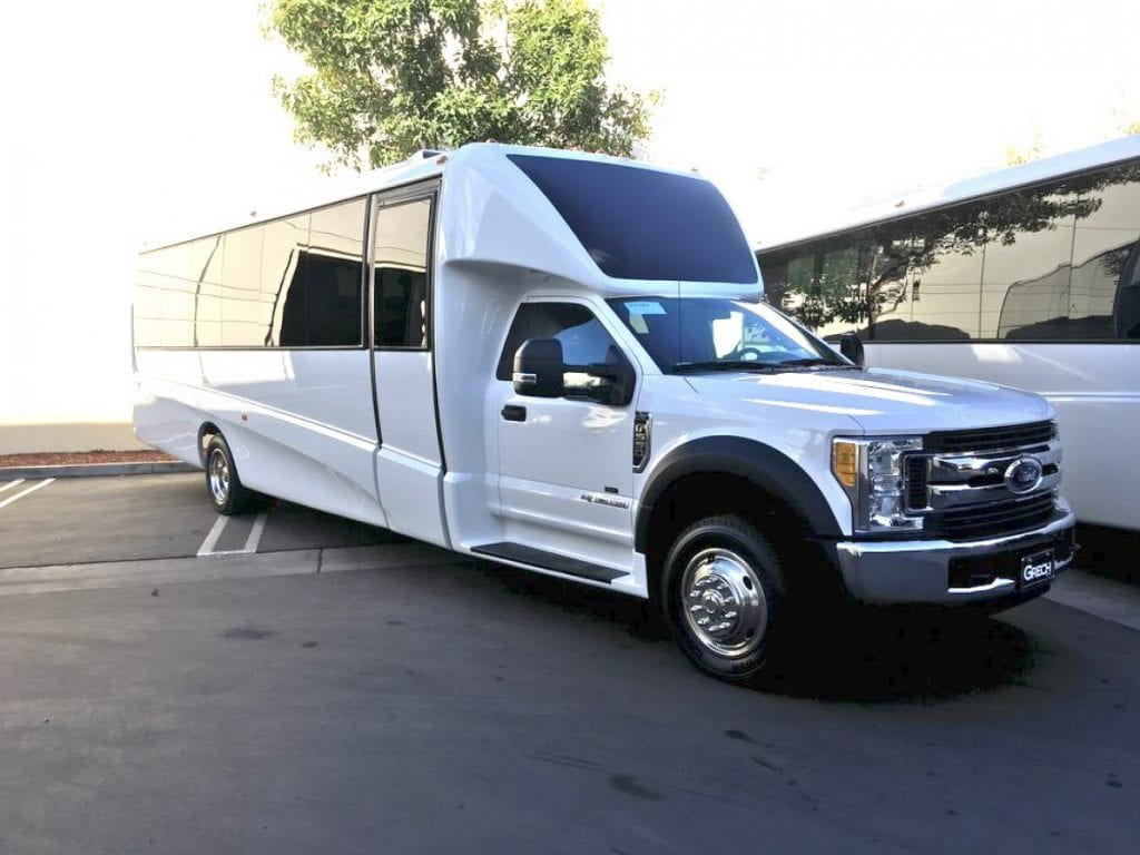 20-30-40  passenger shuttle bus / minibus for corporate shuttle events