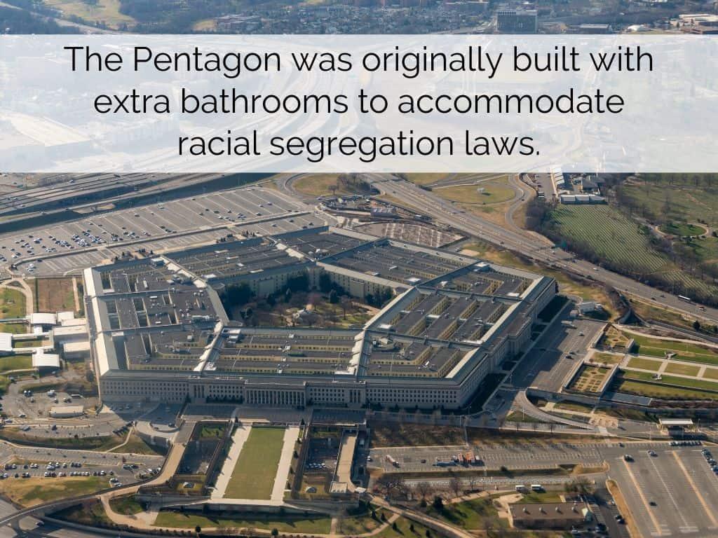 pentagon racial segregation laws