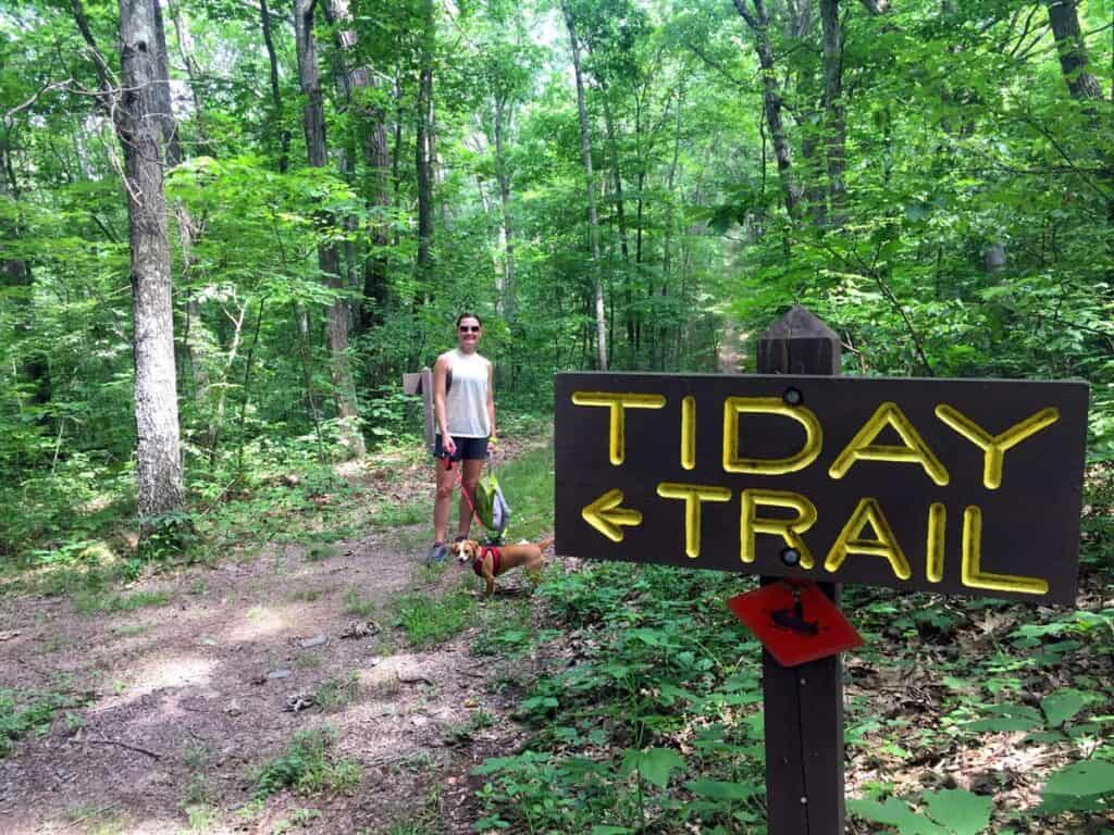 tiday trail shawnee state park