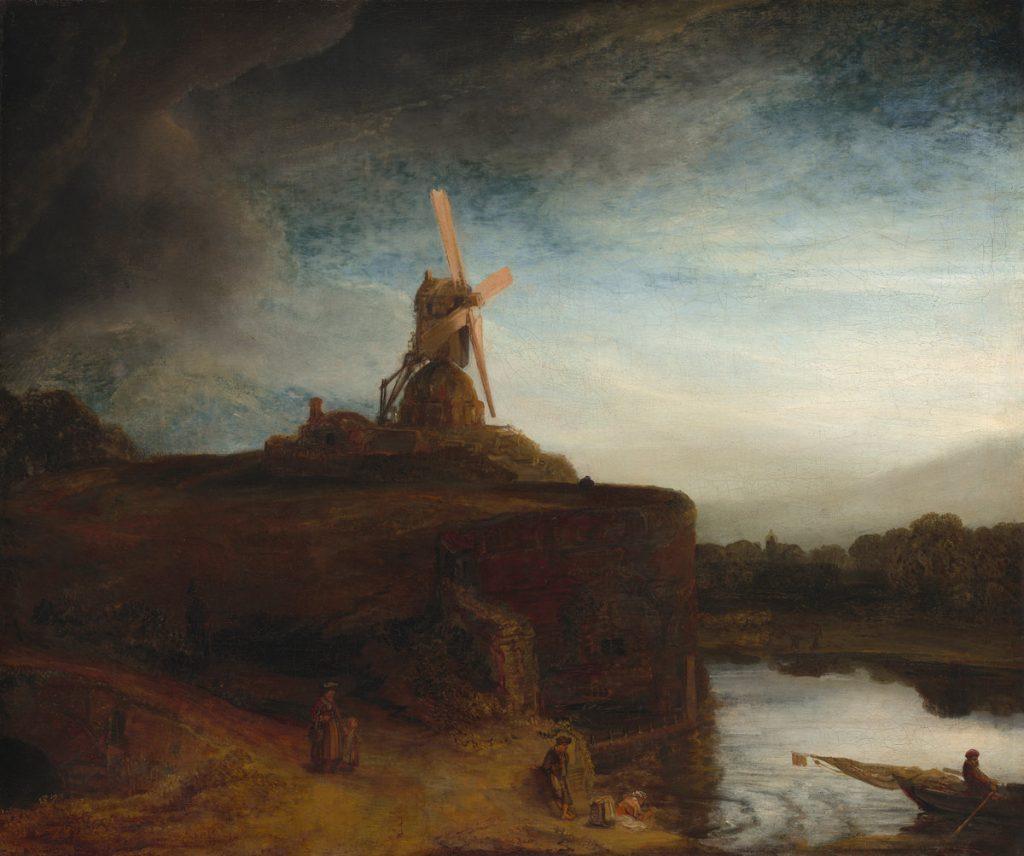 Rembrandt - Die Mühle
