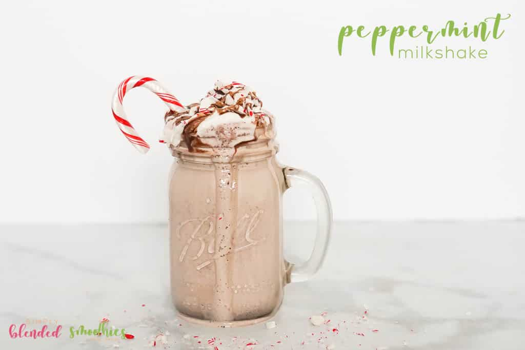 Peppermint Milkshake Recipe