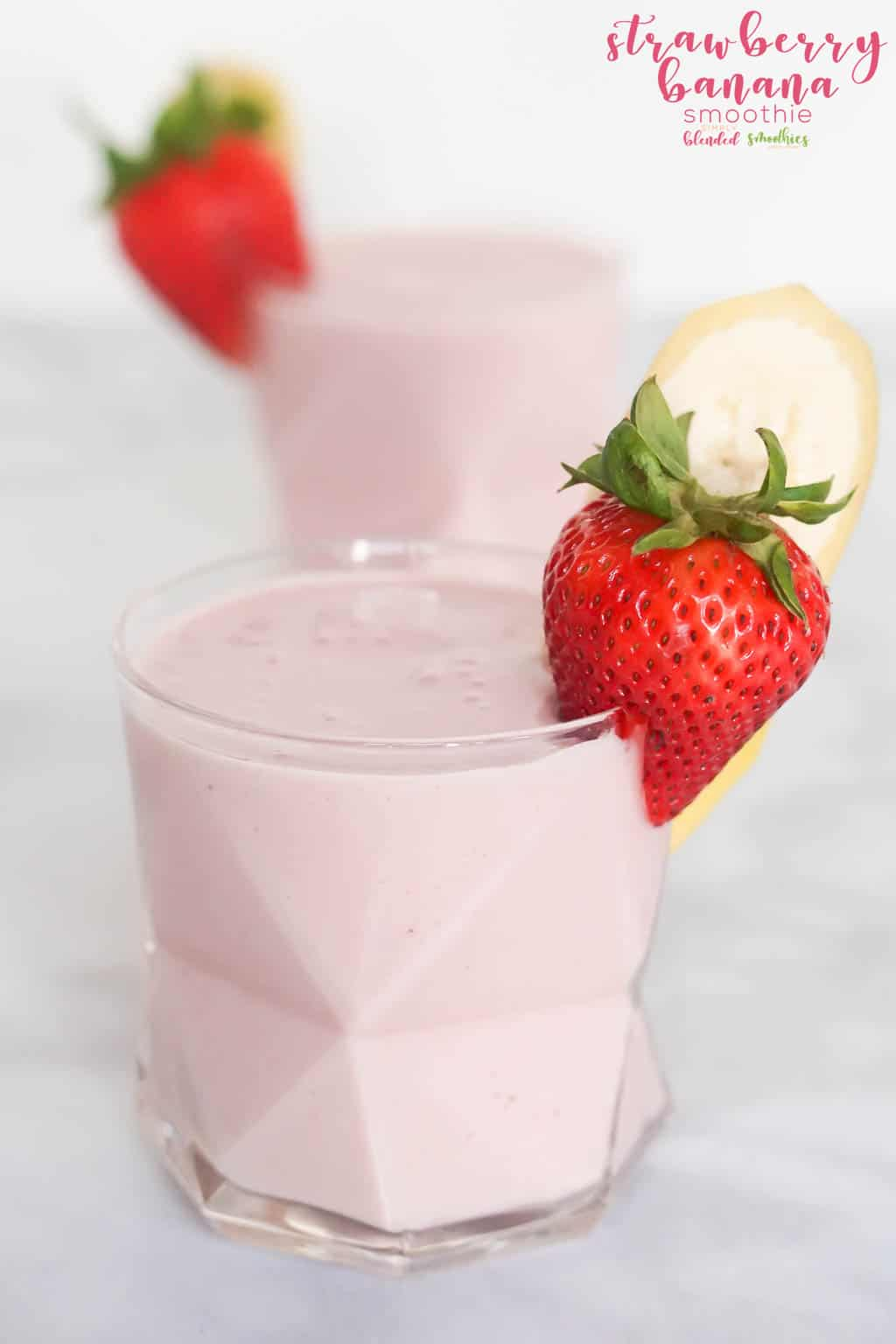 Simple and Delicious Strawberry Banana Smoothie