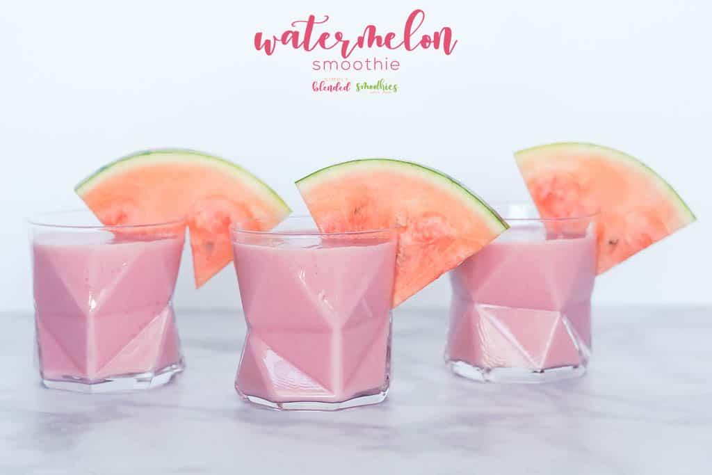 Easy Watermelon Smoothie Recipe