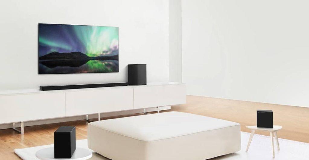 LG AI Room Calibration