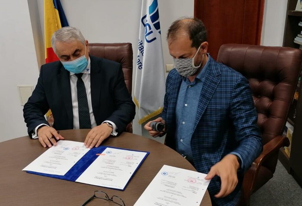Valentin Popa and Juergen Raizner confirm collaboration.