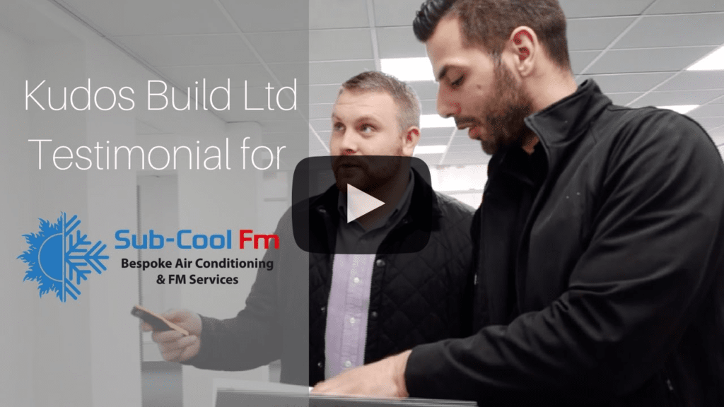 Kudos Build testimonial for SubCool FM air conditioning