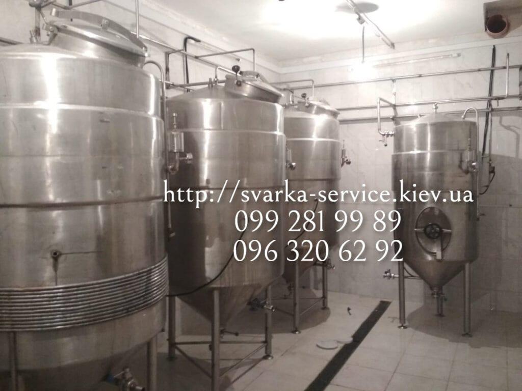 емкости для пивоварения