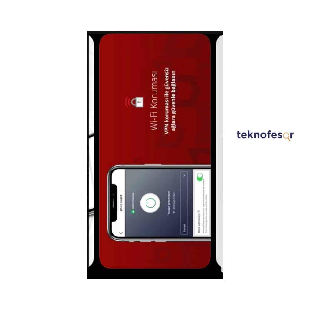 McAfee mobile antivirüs uygulaması