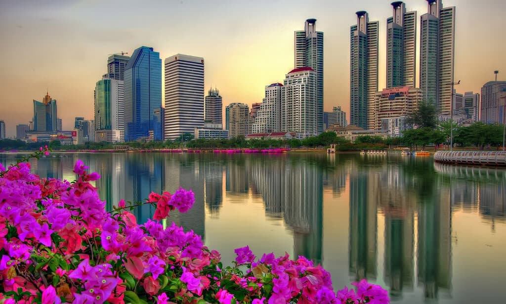 Air Pollution in Bangkok. Benjakitti Park Thailand Event Guide