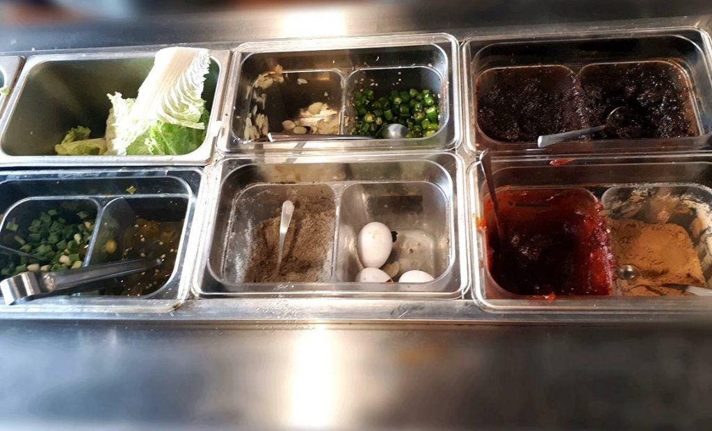 Side dishes in Barangay Seoul
