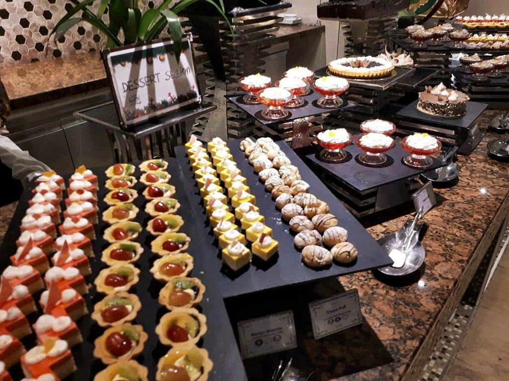 Desserts station in Cafe Bai in Bai Hotel in Mandaue City