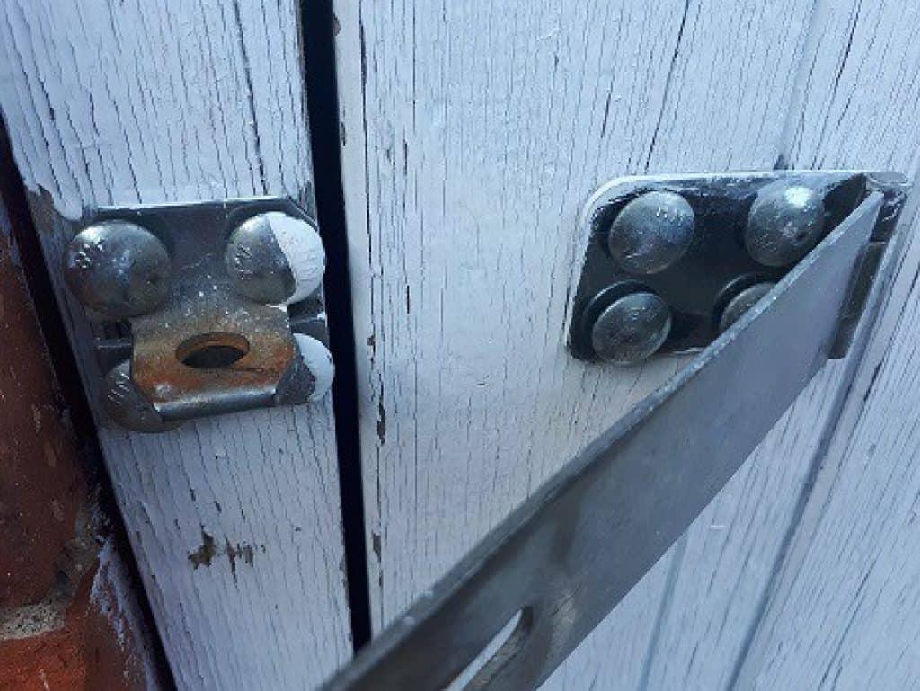 best garden shed locks