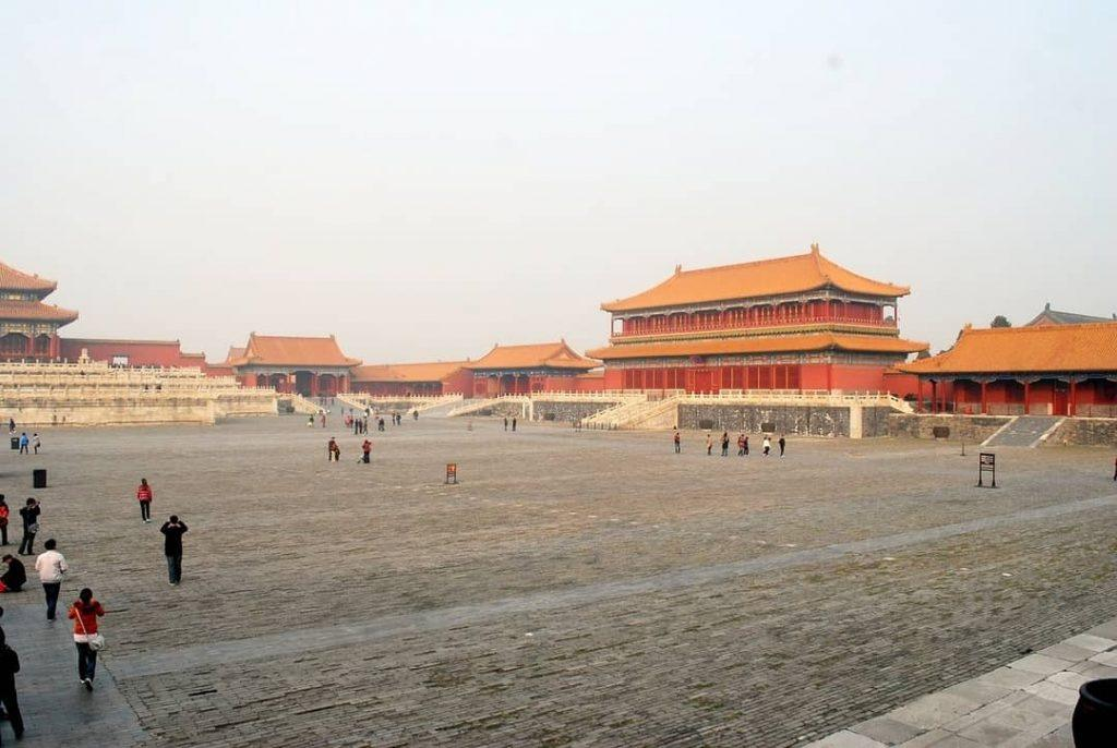 View of the Forbidden City