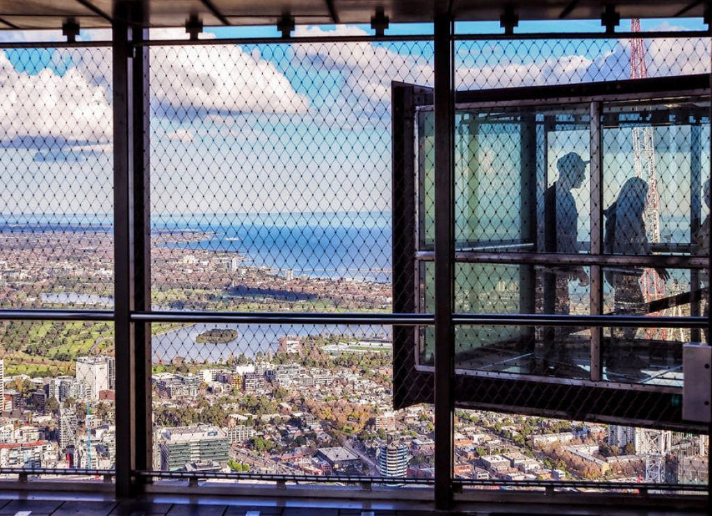 View of the Edge Experience at Eureka Skydeck
