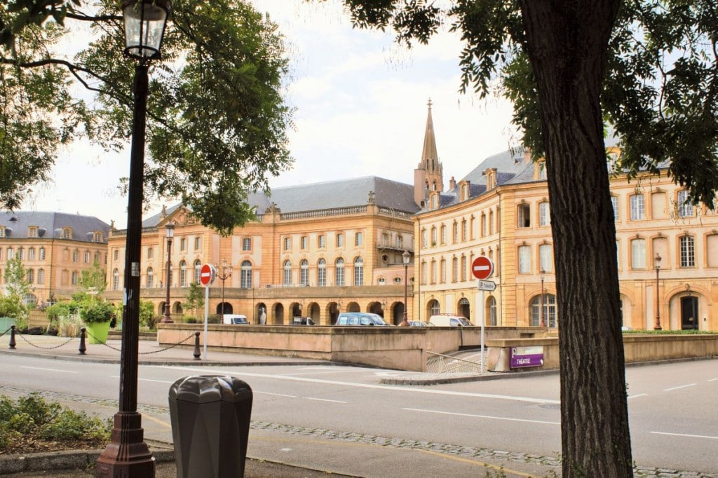 Theaterplatz Metz
