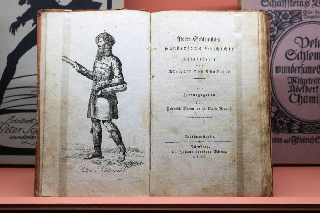 Erstausgabe Peter Schlemihl