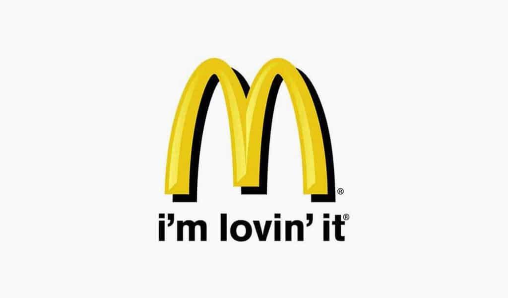 Mc'donalds i'm lovin' it logo, 2003