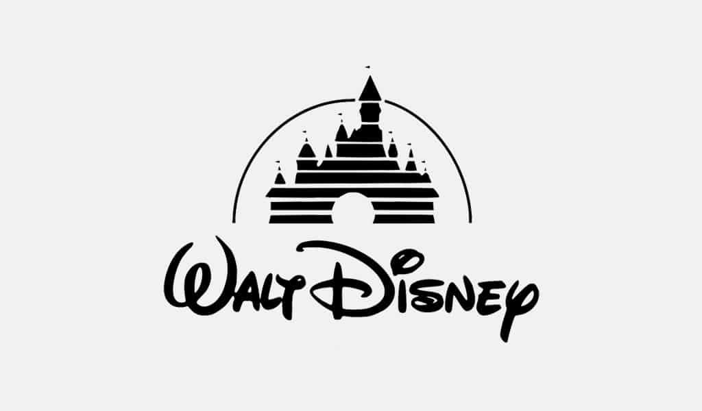 The Walt Disney logo castle