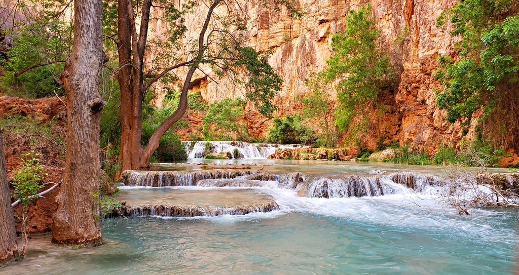 Feeling like a non-native species: Havasu Falls Hike, Arizona