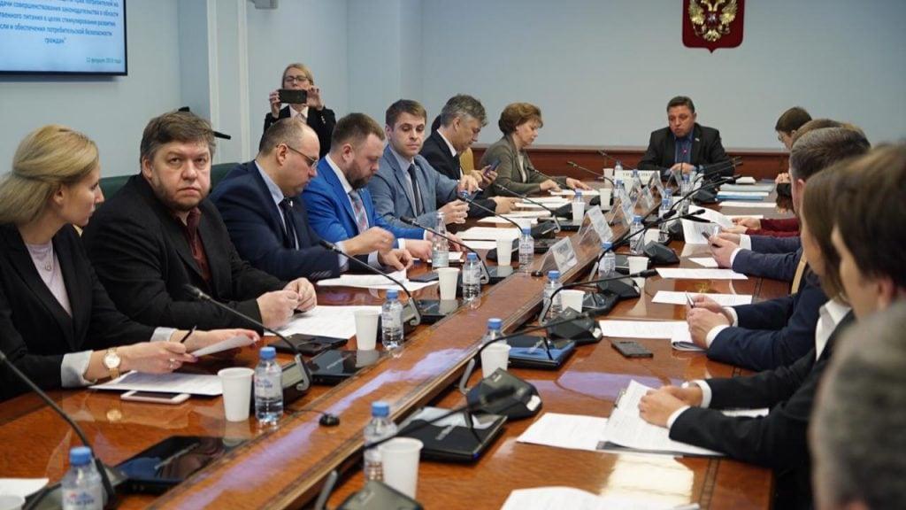 заседание в совете федерации