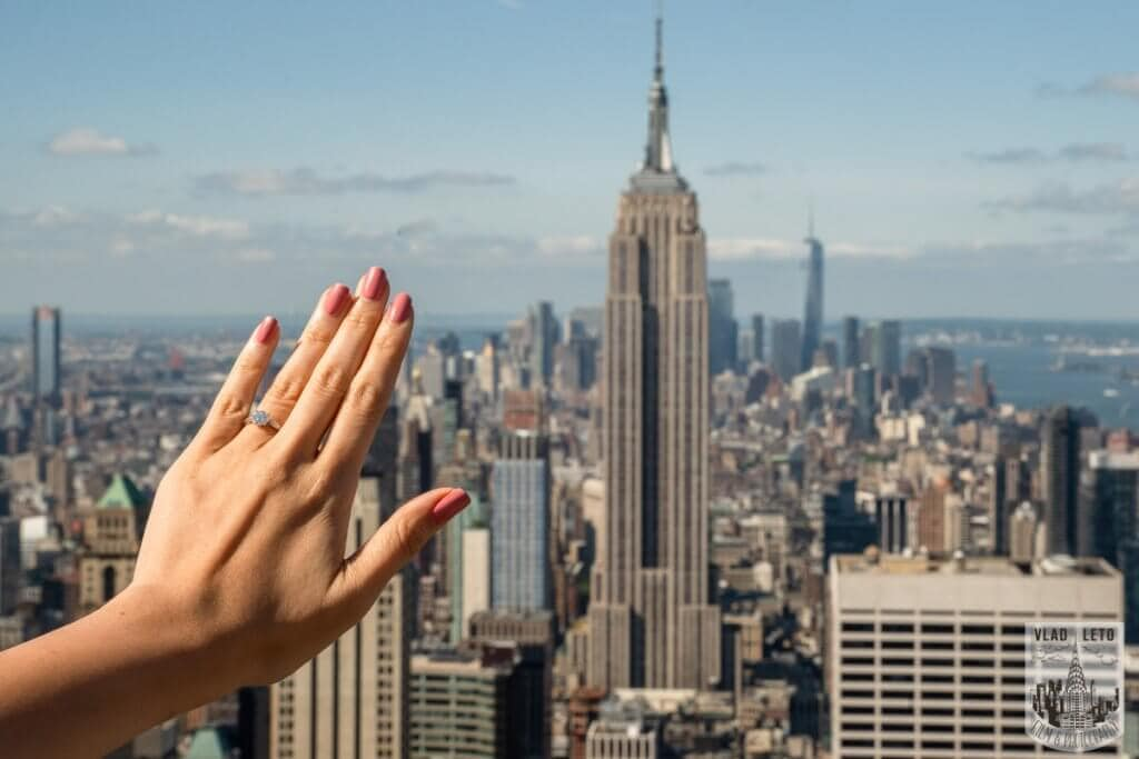 Photo Top of the Rock Marriage Proposal 2