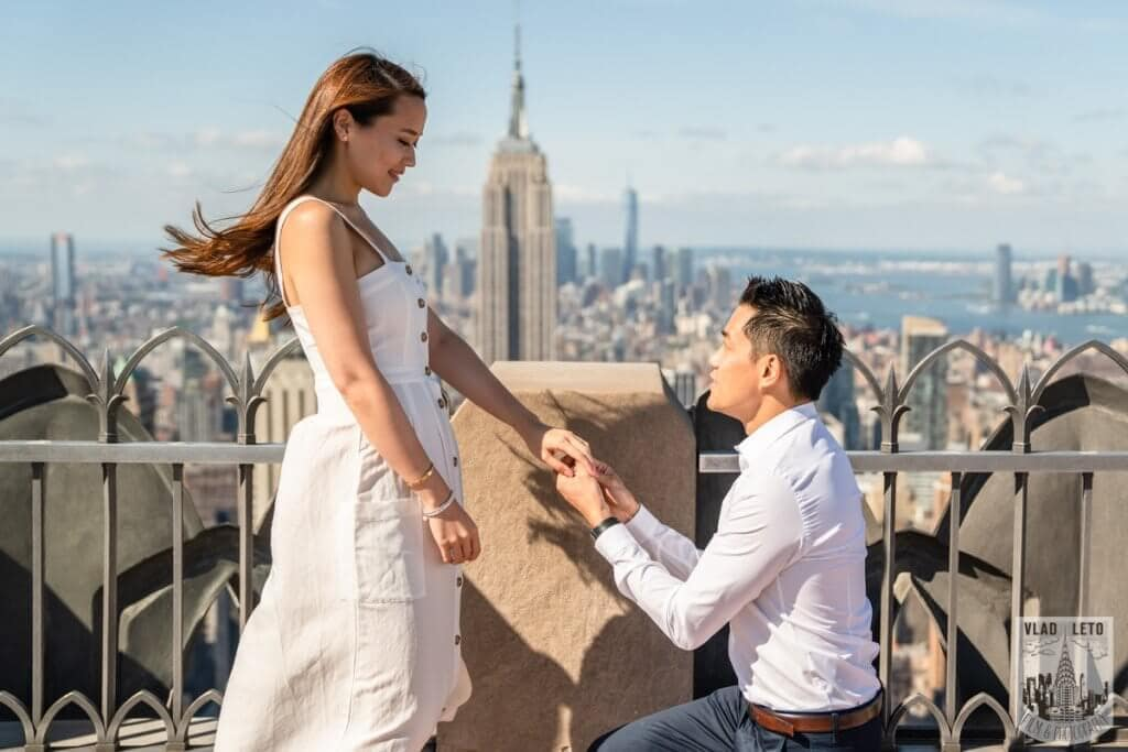 Photo 3 Top of the Rock Marriage Proposal 2