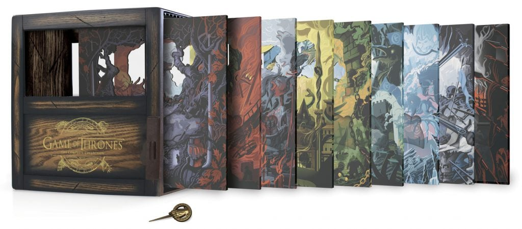Games of Thrones - limited edition packaging
